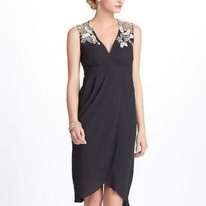 ANTHROPOLOGIE Embroidered Tulip Dress 2 $168 RARE
